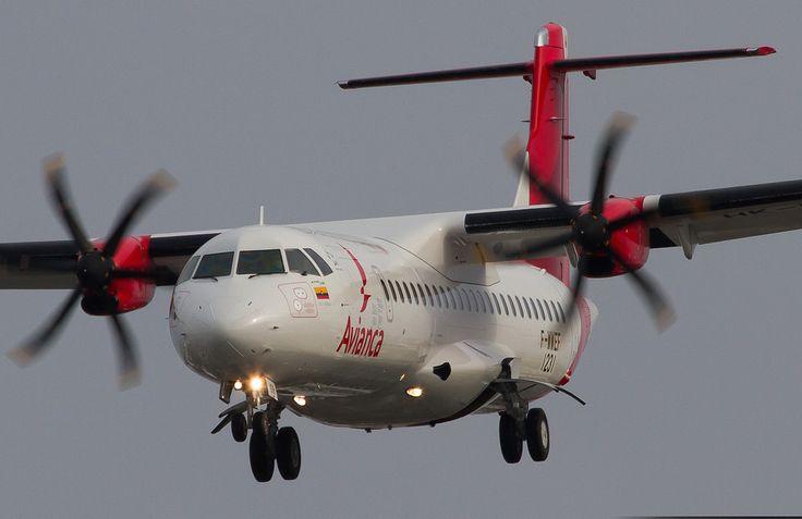 Avianca ATR-72-600 F-WWEF