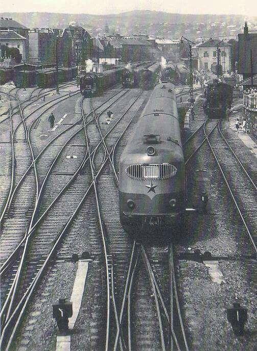 1958. Déli pályaudvar.