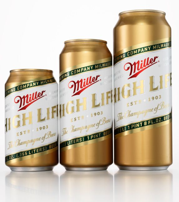 Miller High Life the champagne of beers