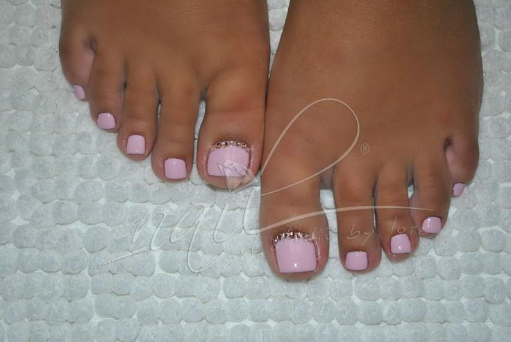 nail art pedicure
