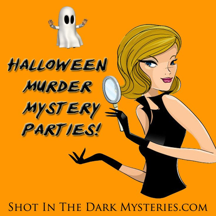 Halloween Murder Mystery Party Games - for the next party event!