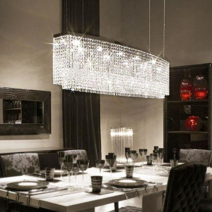 Modern Crystal Chandeliers For Dining Room Crystal Chandelier Dining Room Dining Room Chandelier Pendant Lighting Dining Room