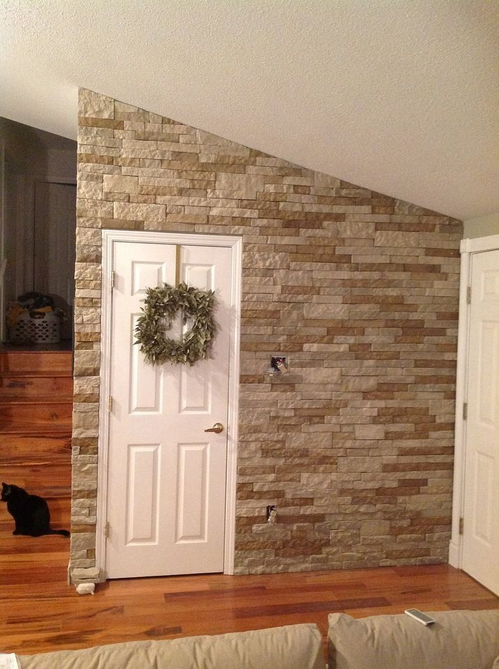 Image result for interior stone wall ideas