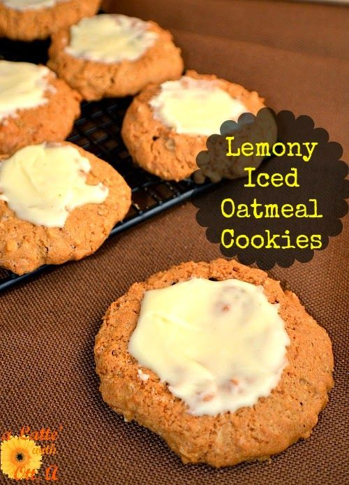ummmm... oatmeal cookies never tasted so good as when paired with ...