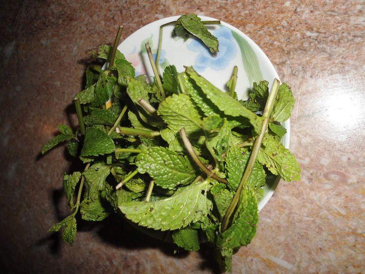 ceai marocan cu menta