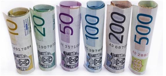 Confira aqui a taxa diária do dolar, USD, euro, EUR, real, BRL, dolar canadense, CAD, dolar australiano, AUD, Pesos, francos, libras, ienes e outras