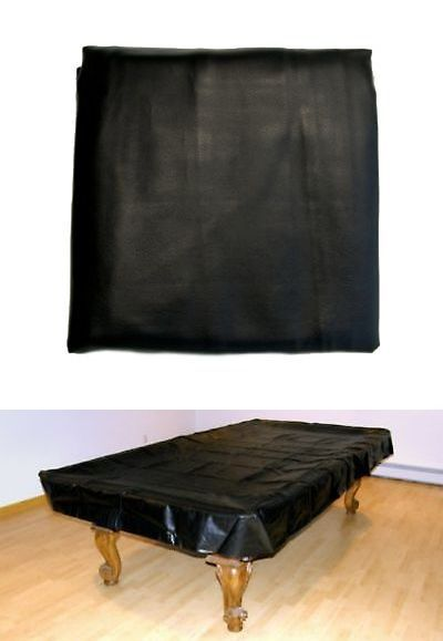 Table Covers 91569: 7 Foot Heavy Duty Fitted Pool Table Billiard Cover Black New BUY IT NOW ONLY: $36.95