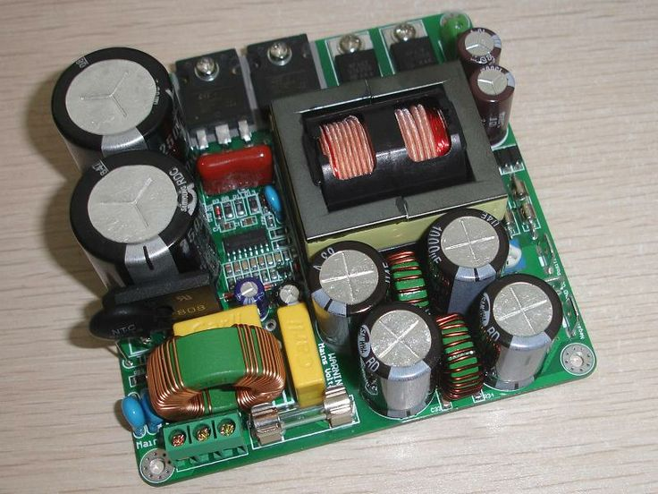 Connexelectronic SMPS330R power supply: powers the T1 board by providing 300W (400W peak) of 38V DC