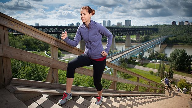 A total-body outdoor workout to help you make the most of the summer sunshine. #NAIT #yeg