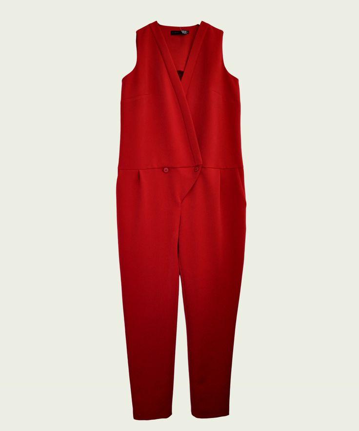 red grama jumpsuit