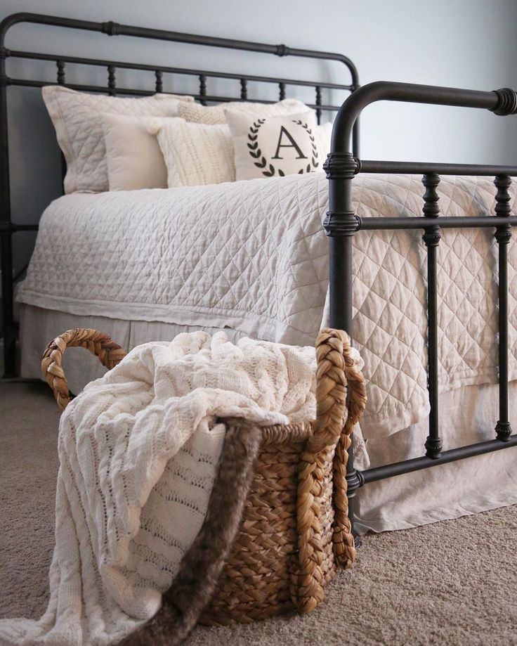 make your bedroom more bright with wood full size bed home sweet rh pinterest com