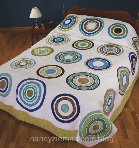 79 Best Images About Quilting With Circles On Pinterest