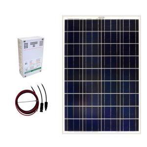 Grape Solar 100-Watt Off-Grid Solar Panel Kit GS-100-KIT at The Home Depot - Mobile