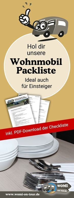 The really useful camper packing list. Which Erstaustattung do you need with …