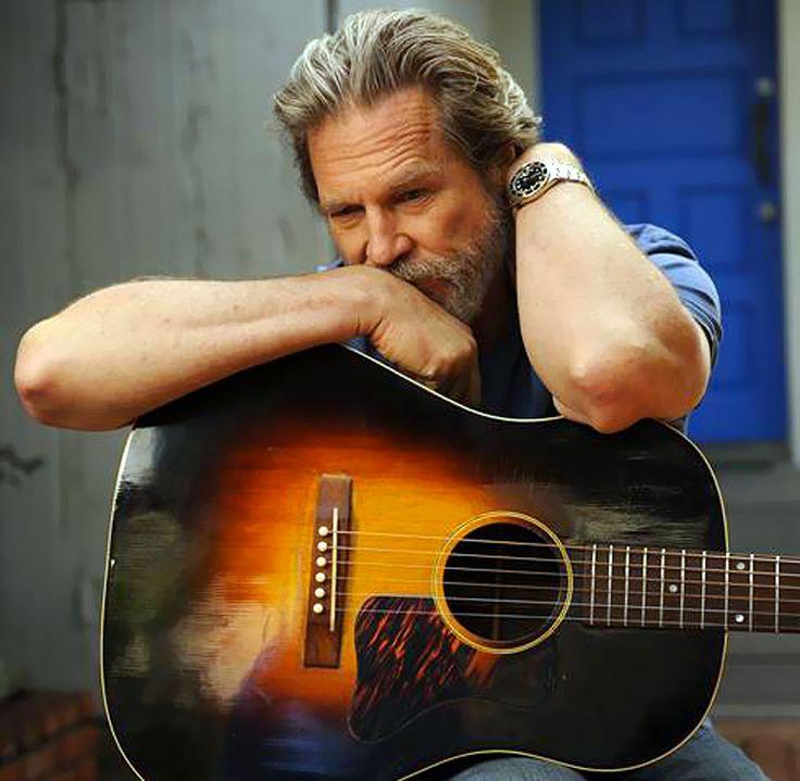Crazy Heart Jeff Bridges: Favorite Music, Famous Guitarist, Favorite Celebrities, Famous Men, Jeff Bridges, Famous People, Heart Jeffbridges, Actor, Rolex