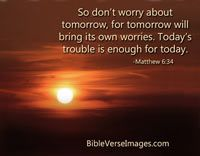 Bible Verse about Worry and Anxiety