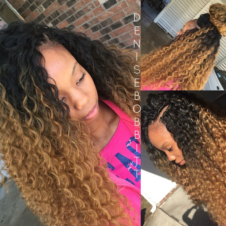 348 Best Images About Crochet Braids Hairstyles On Pinterest