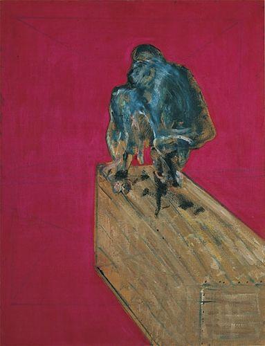 Study for Chimpanzee, Francis Bacon