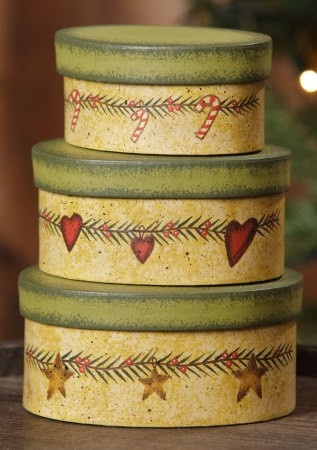 Christmas Garland Nesting Boxes