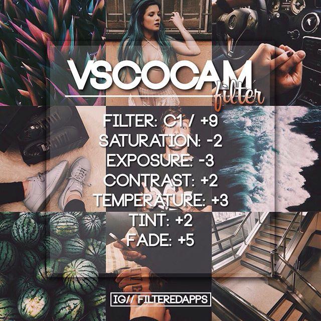 VSCO FILTERS + MORE!  filteredapps | WEBSTA - Instagram Analytics
