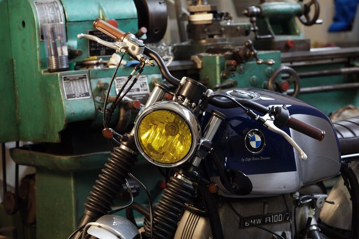 A Scrambled BMW R100/7 [Photo Gallery] - autoevolution for Mobile