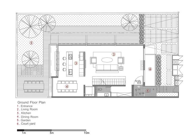 D House / Paz Gersh Architects, Floor Plan-G