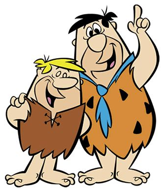 "Fred Flintstone and Barney Rubble, Mammonites. ""Ha ha ha ha! See that, pals? Fred Flintstone wants money. Ha ha ha ha ha!"" and ""What is this mania you have with telling the truth? You must have been weaned on sodium pentathol or something."""