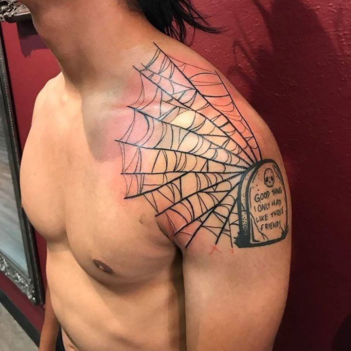 olio.tattoo Spooky Halloween Spider Treat Tattoo by @alramonelb from Black Raven Tattoo Gallery - Torrance, CA @alramonelb #spooky #halloween #spider #treat -- More at: https://olio.tattoo/tattoo-images/mentions:spooky
