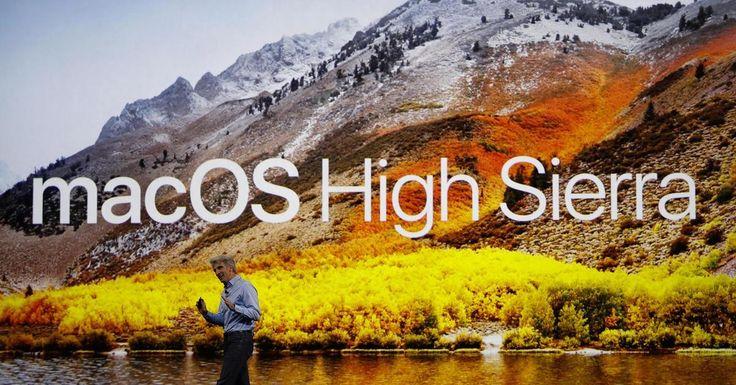 [Новости]  Apple представила новую десктопную платформу macOS High Sierra  Apple в рамках WWDC 2017 представил новое поколение операционных систем macOS. Четырнадцатое обновление ОС для Mac было официально представлено на мероприятии для разработчиков в Сан-Хосе.   В прошлом году Apple впервые провела ребрендинг OS X и изменила ее название на macOS, более близкое пользователям. Наименование выдержано в едином стиле с названиями других операционных систем компании. Вопреки традиции…