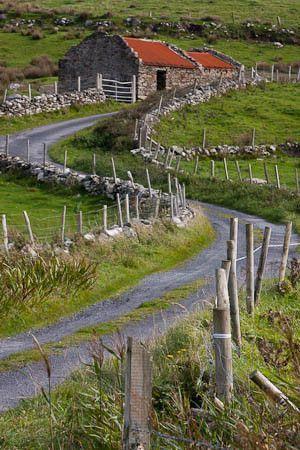 Abandoned Cottage,County Mayo,Ireland.