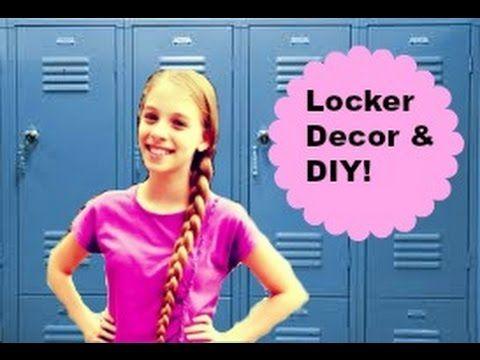 Back to School: Locker Organization and decorations! - YouTube
