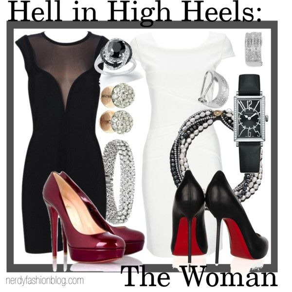 Hell in High Heels: The Woman | Doctor Who / Sherlock (BBC) - Polyvore