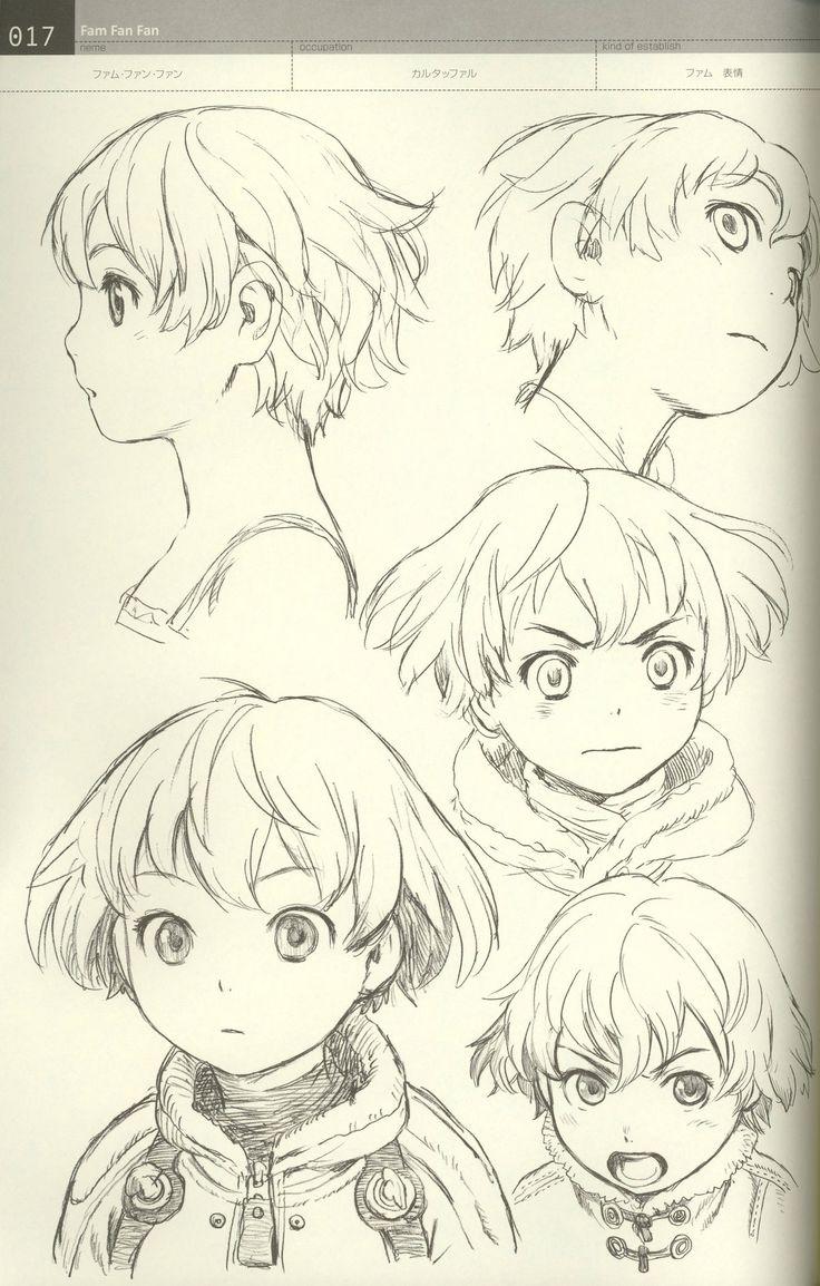 村田蓮爾 Range Murata ★ || CHARACTER DESIGN REFERENCES | キャラクターデザイン • Find more artworks at https://www.facebook.com/CharacterDesignReferences http://www.pinterest.com/characterdesigh and learn how to draw: #concept #art #animation #anime #comics || ★