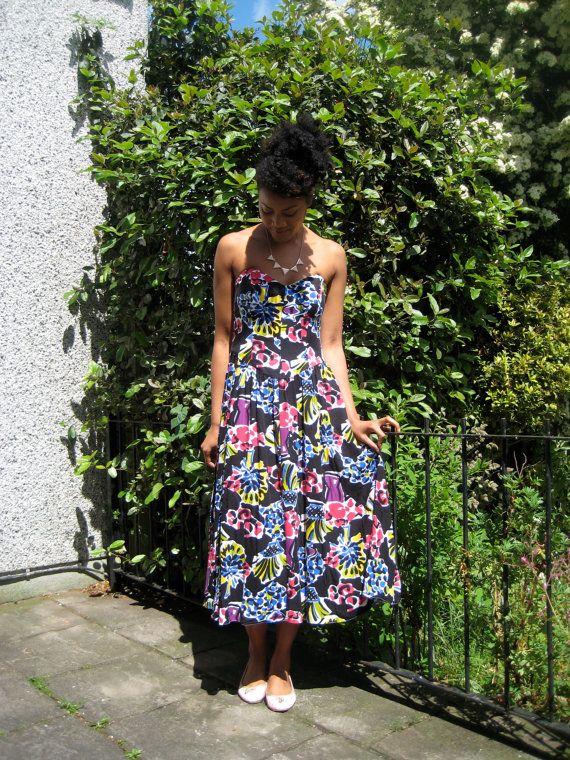 Vintage Sweetheart Summer Dress