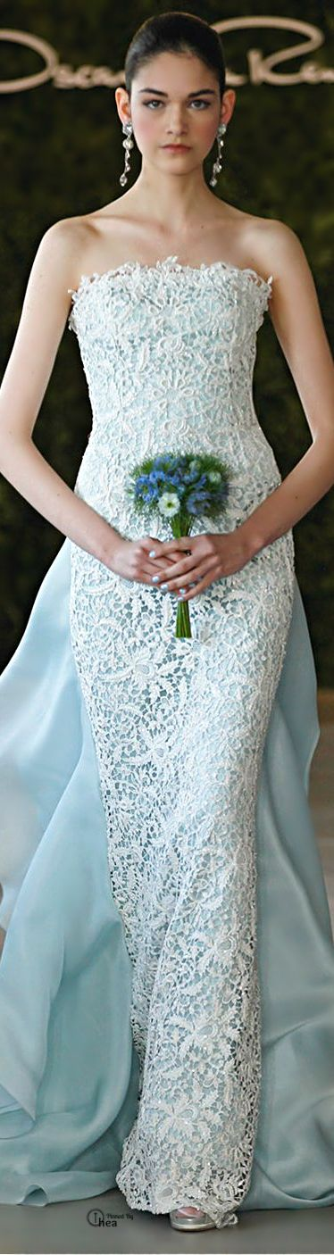 The Wedding Scoop Spotlight: Coloured and Non-white Wedding Dresses