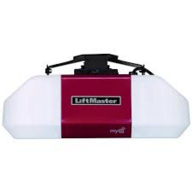 Liftmaster 8587w 3 4 Hp Ac Chain Drive Wi Fi Garage Door Opener Best Garage Door Opener Garage Door Opener Garage Doors