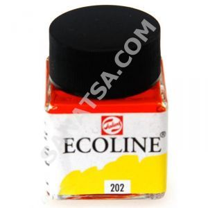 Talens Ecoline Sıvı Suluboya 30 ml. 202 Deep Yellow
