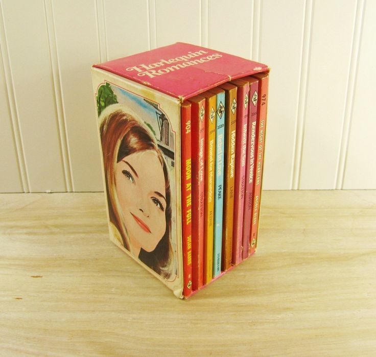 Vintage Harlequin Romance Book Set in Original Box Romance Novels Romance Paperback Vintage Gift Set Romantic Novels by…