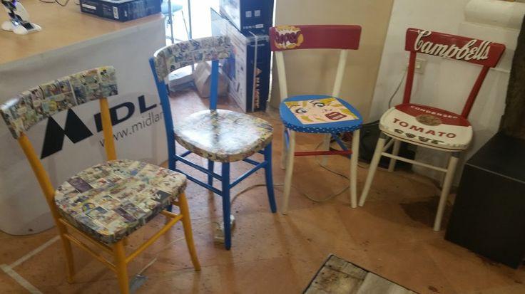 Oltre 1000 idee su sedie decorate su pinterest sedie for Sedie decorate a mano