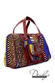 Adding a handbag in a traditional African print to your corporate outfit honours your heritage