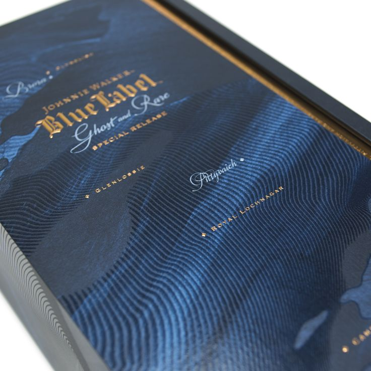 Packaging manufacturers MW Luxury Packaging have collaborated with global whisky giant Johnnie Walker on a number of occasions over the past few years. Now the two companies have come together once again to unveil a particularly artistic creation: their pack for Johnnie Walker's Blue Label Ghost & Rare Special Release, which was blended from eight exceedingly rare Scotch whiskies.