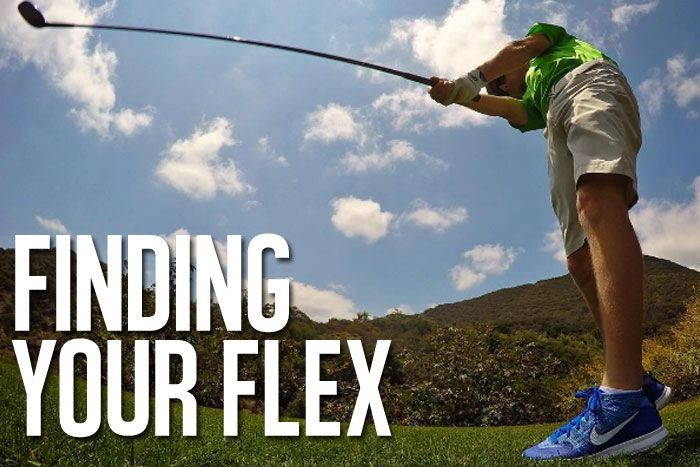 Are you using the correct flex shafts in your #golf equipment?  Here's how to find out.  Hint: it has a lot to do with #swing speed.