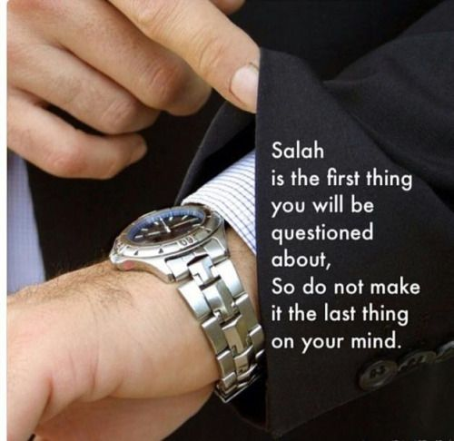 Let's make Salah the priority in our life!