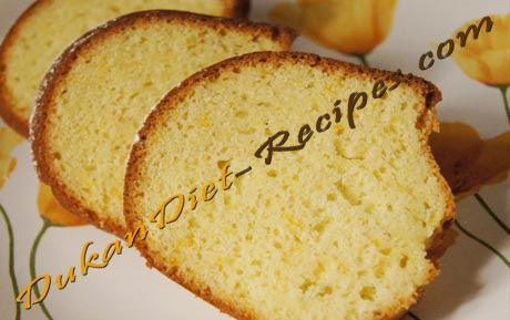Dukan Orange Flavoured Bundt Cake