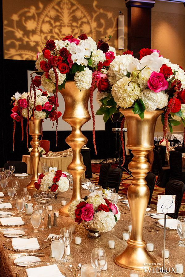 WedLuxe An Opulent Oscar Worthy Wedding At The Fairmont Royal York