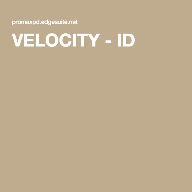 VELOCITY - ID