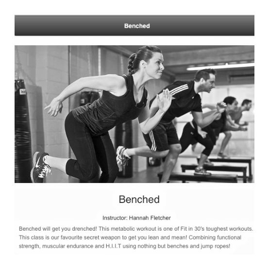Beanched is one of our great workout classes, get your free pass here!