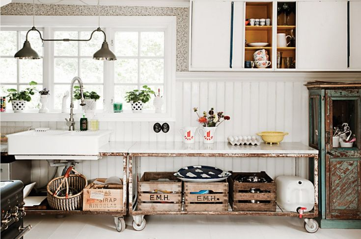 SEE A STYLIST'S SWEDISH SUMMER HOME An hour outside of Stockholm, Jennifer Jansch spends her Summers with her husband and three daughters in this bohemian farmhouse