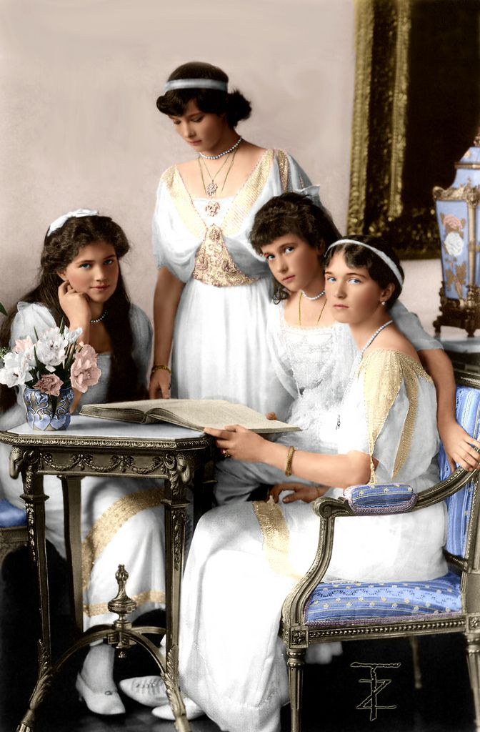 "(""Tai-Wiki-Widbee""): OTMA - the daughters of Tsar Nicholas II"