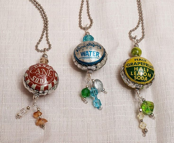 76 best beer can crafts and bottle cap ideas images on for Beer cap jewelry